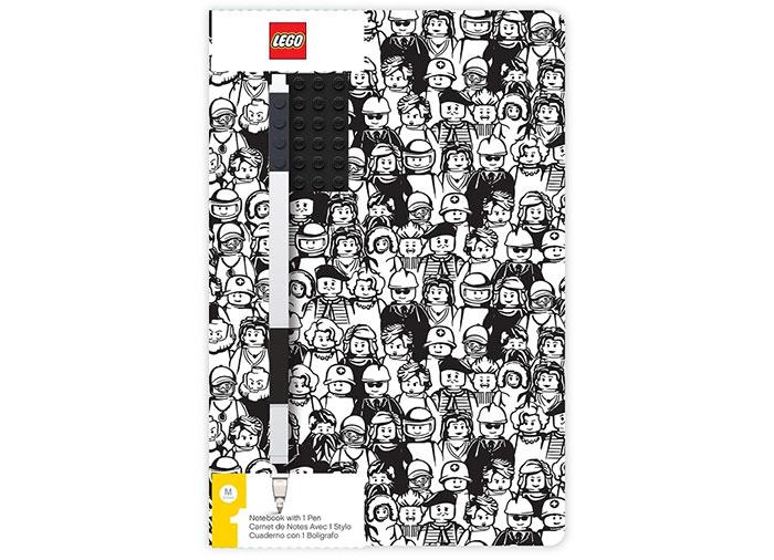 Agenda lego minifigurine