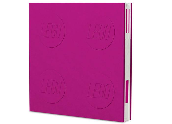 Agenda cu pix lego violet imagine
