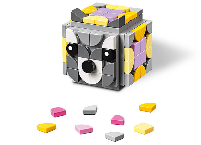 Suport foto cu animale lego dots - 1