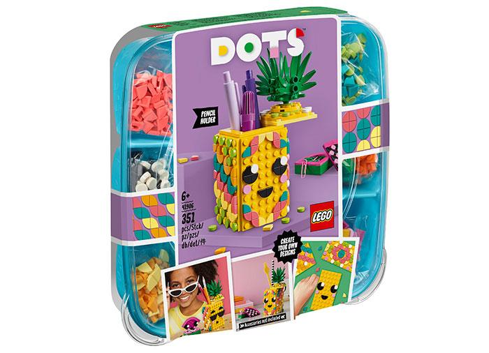 Suport pentru creioane ananas lego dots
