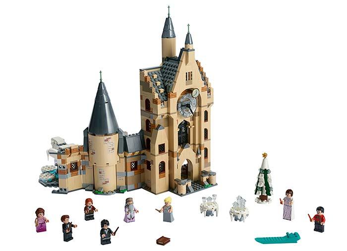 Turnul cu ceas hogwarts lego harry potter - 1