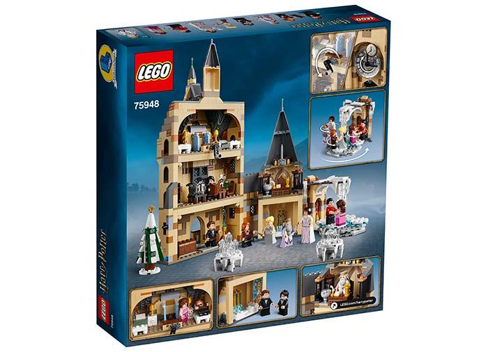 Turnul cu ceas hogwarts lego harry potter - 2