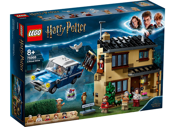 Privet drive 4 lego harry potter