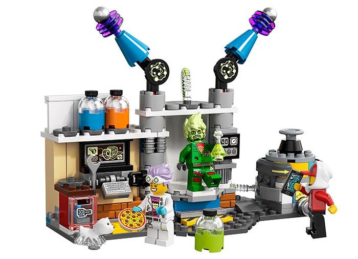 Laboratorul cu fantome al lui j.b. lego hidden side - 1