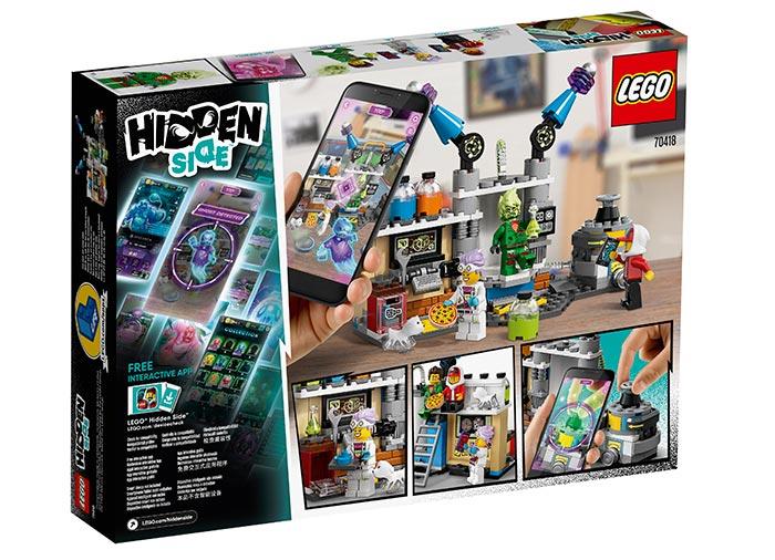 Laboratorul cu fantome al lui j.b. lego hidden side - 2
