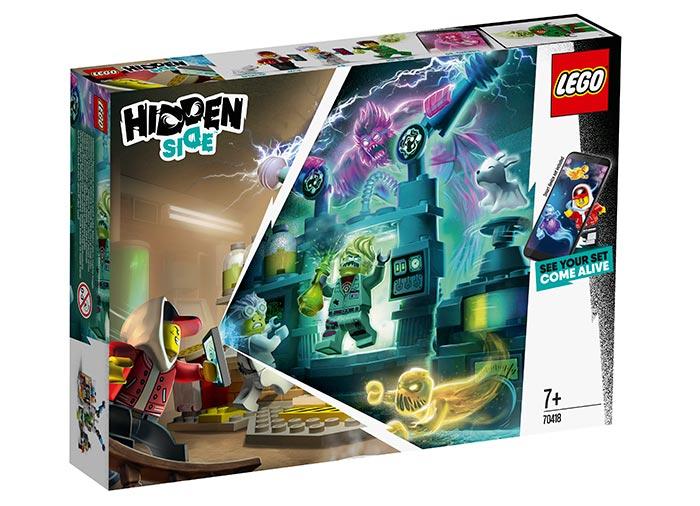 Laboratorul cu fantome al lui j.b. lego hidden side