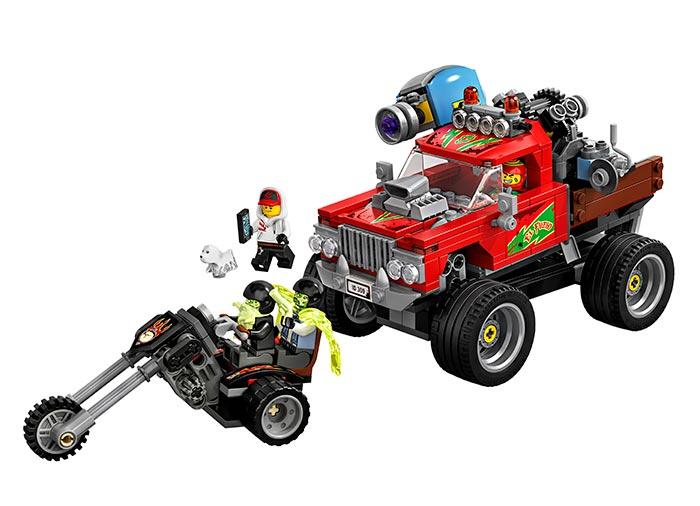 Camionul lui el fuego lego hidden side - 1