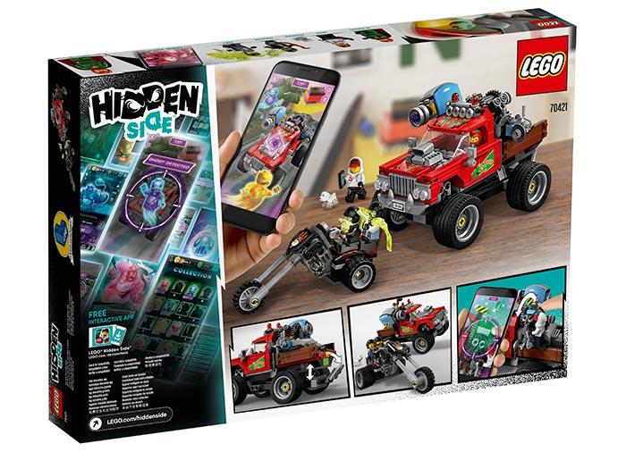 Camionul lui el fuego lego hidden side - 2