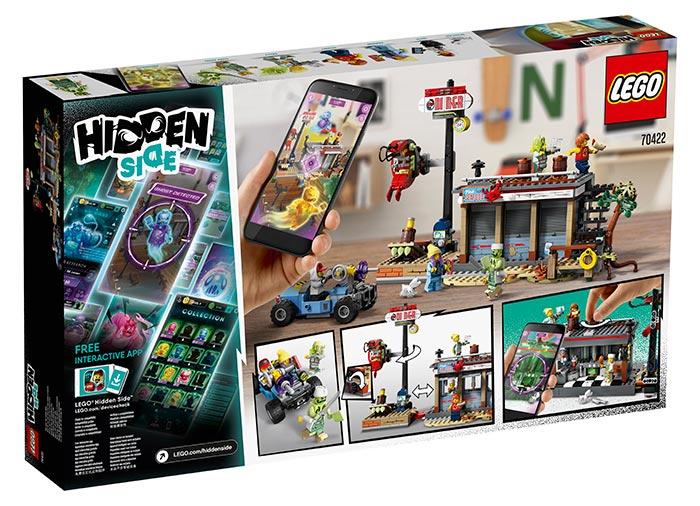 Atacul de la baraca cu creveti lego hidden side - 2