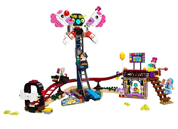 Balciul bantuit lego hidden side - 1