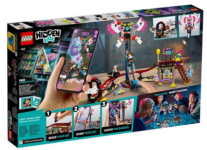 Balciul bantuit lego hidden side - 2