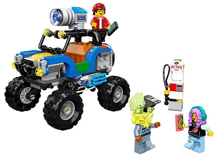 Masina de plaja a lui jack lego hidden side - 1