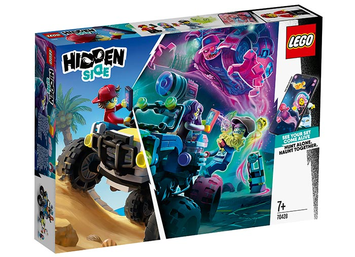 Masina de plaja a lui jack lego hidden side