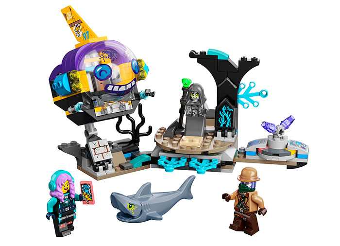 Submarinul lui jb lego hidden side - 1