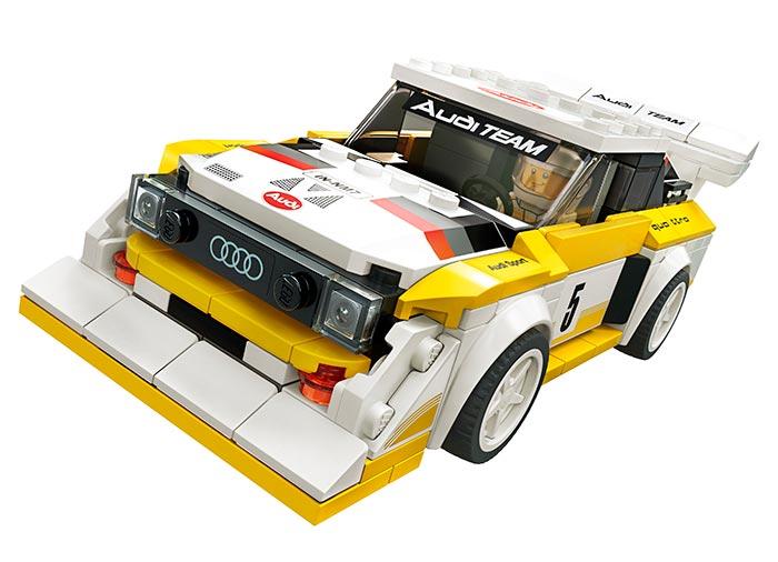 Audi sport quattro s1 lego speed champions - 1