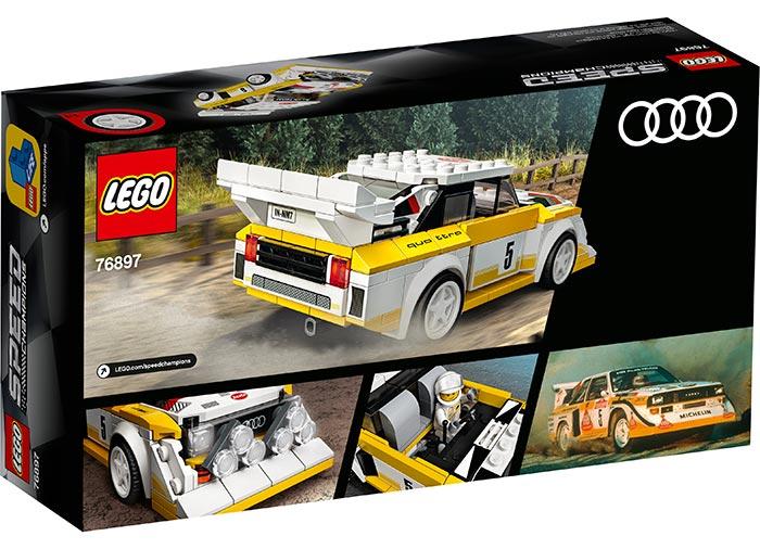 Audi sport quattro s1 lego speed champions - 2