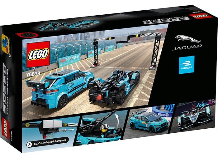Jaguar racing gen2 & jaguar i-pace etrophy lego speed champio - 2