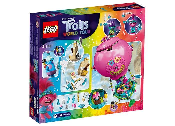 Poppy cu balonul cu aer cald lego trolls - 2