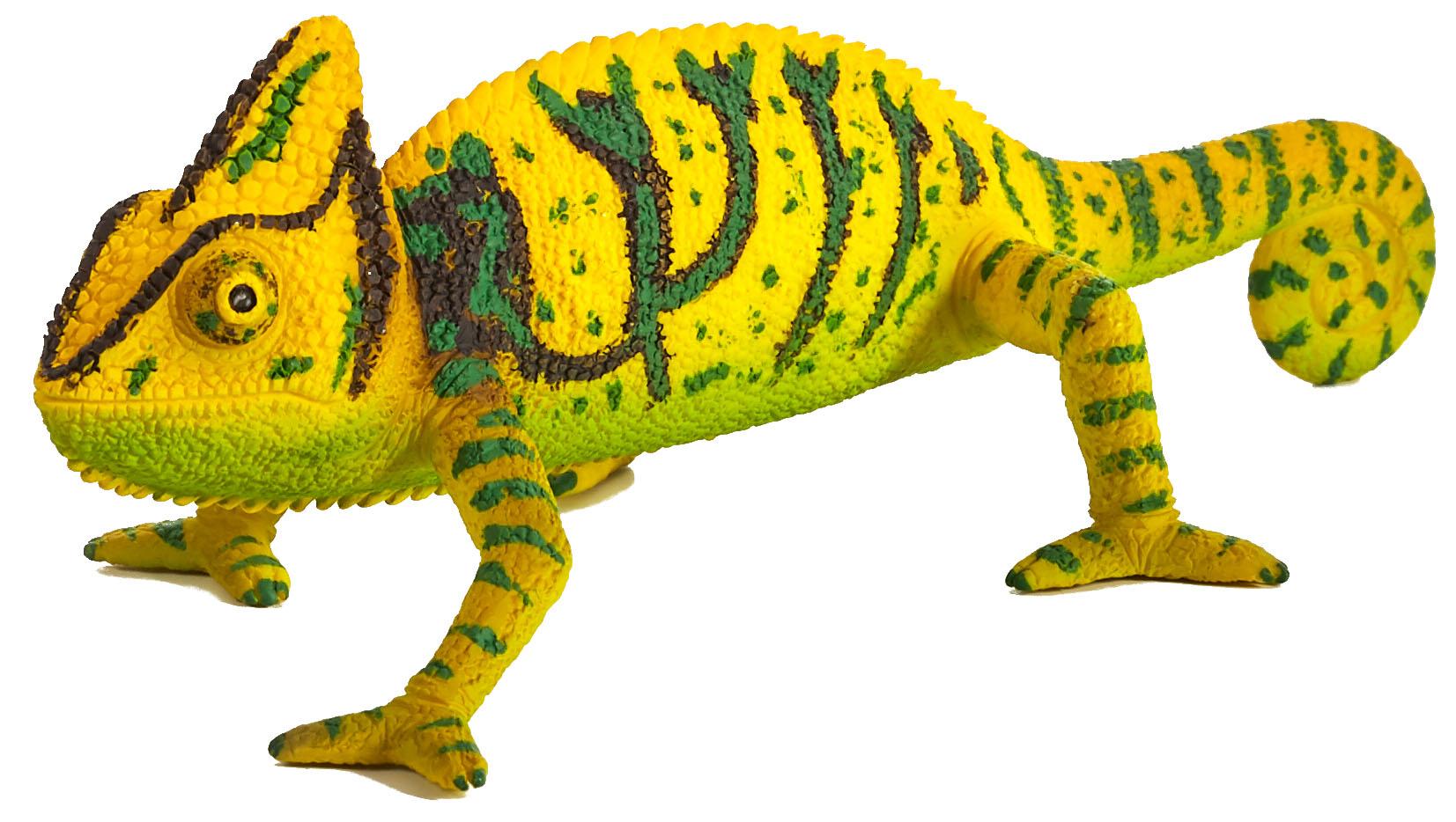 Figurina cameleon mojo