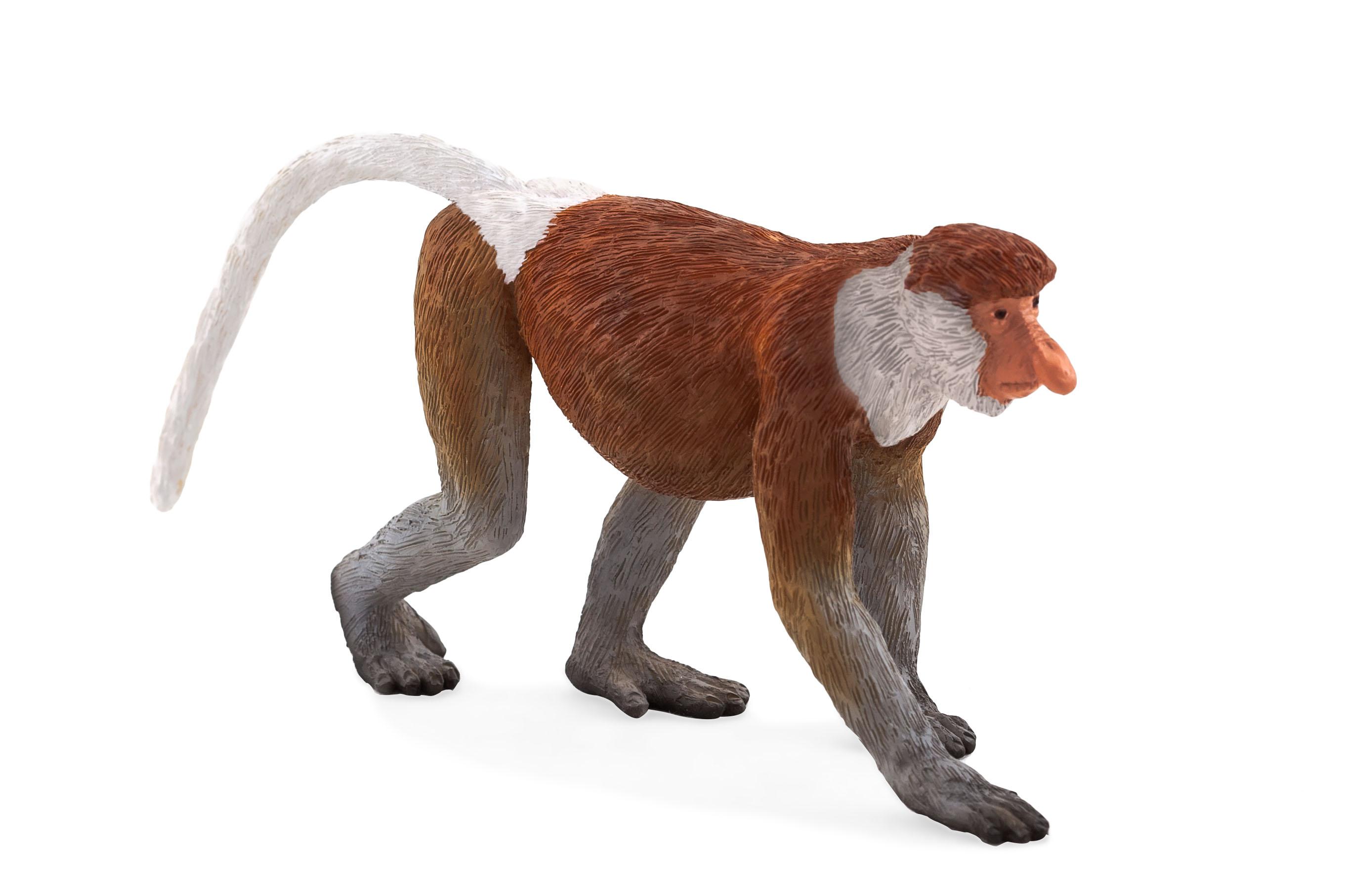 Figurina maimuta cu trompa mojo