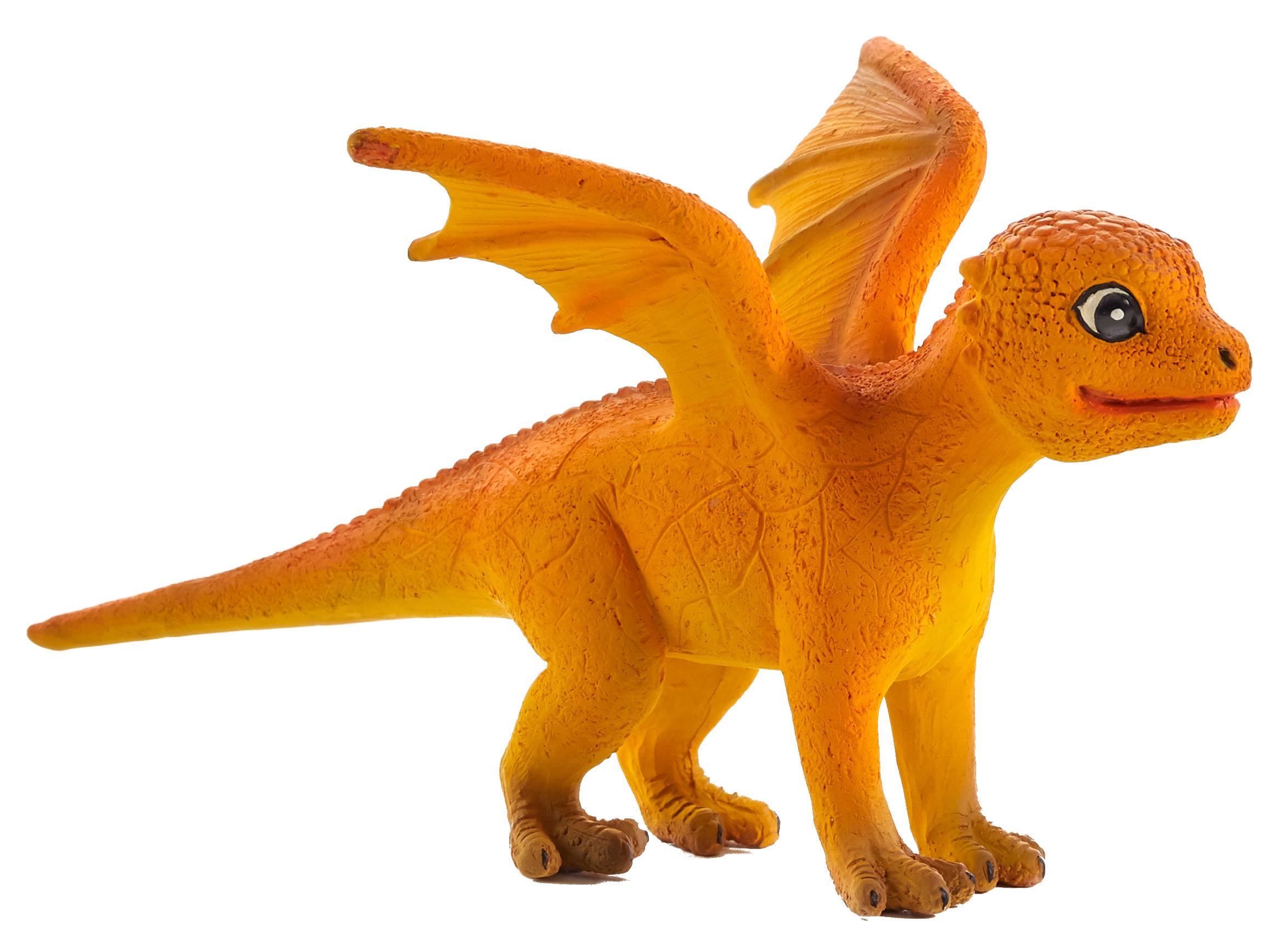 Figurina pui dragon de foc mojo