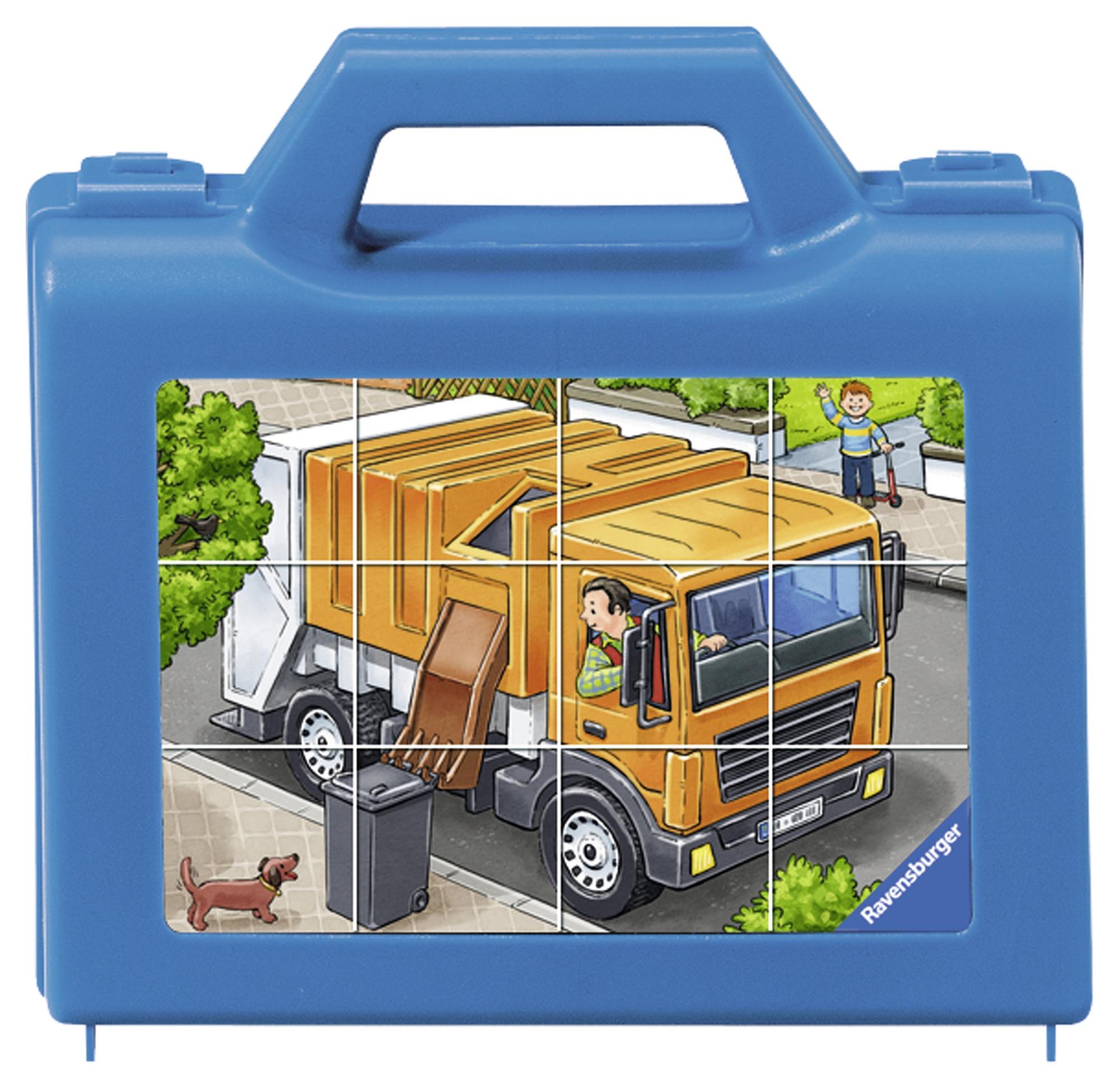 Puzzle vehicule 12 piese ravensburger