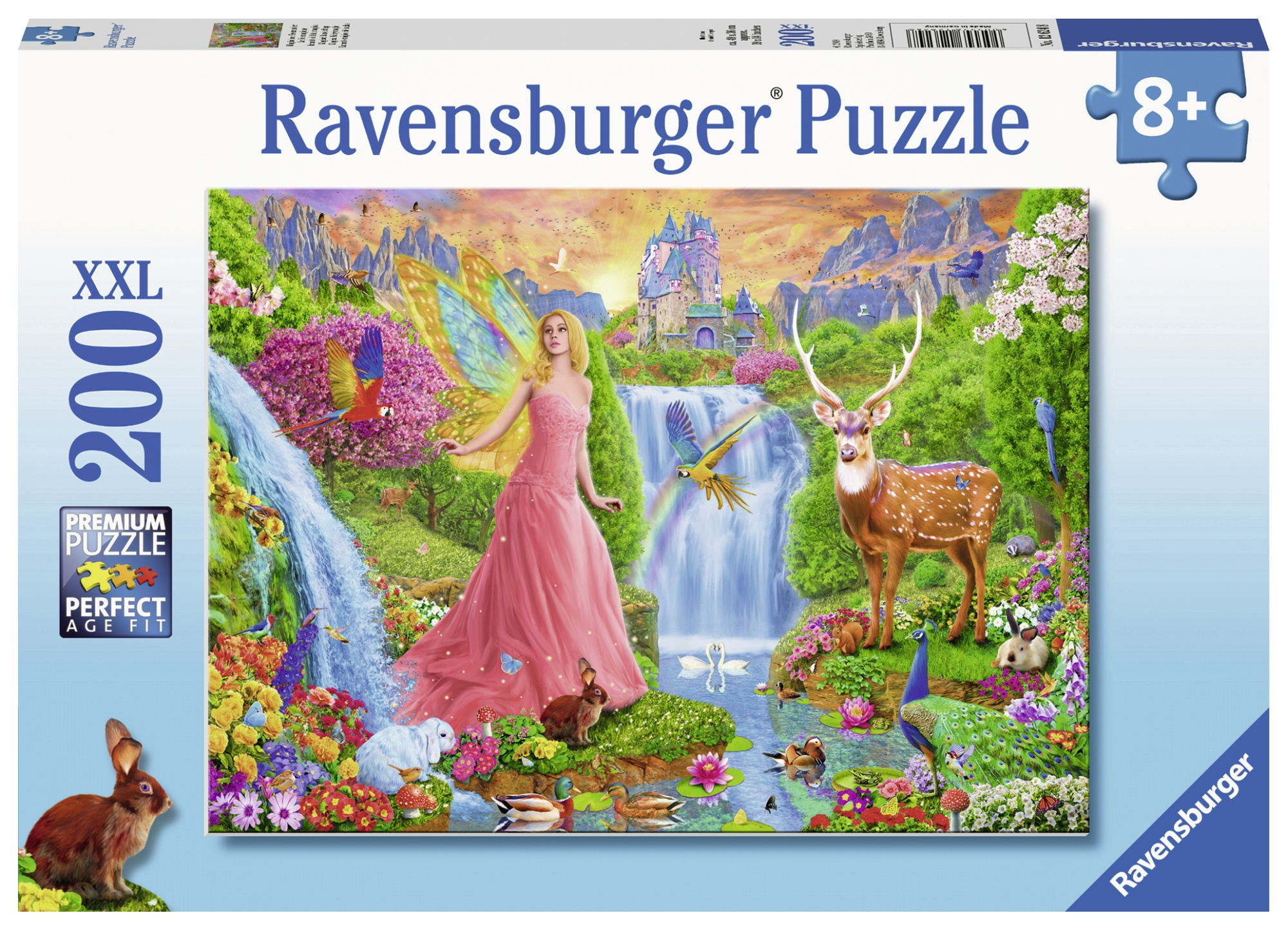 Puzzle zana animalelor 200 piese ravensburger