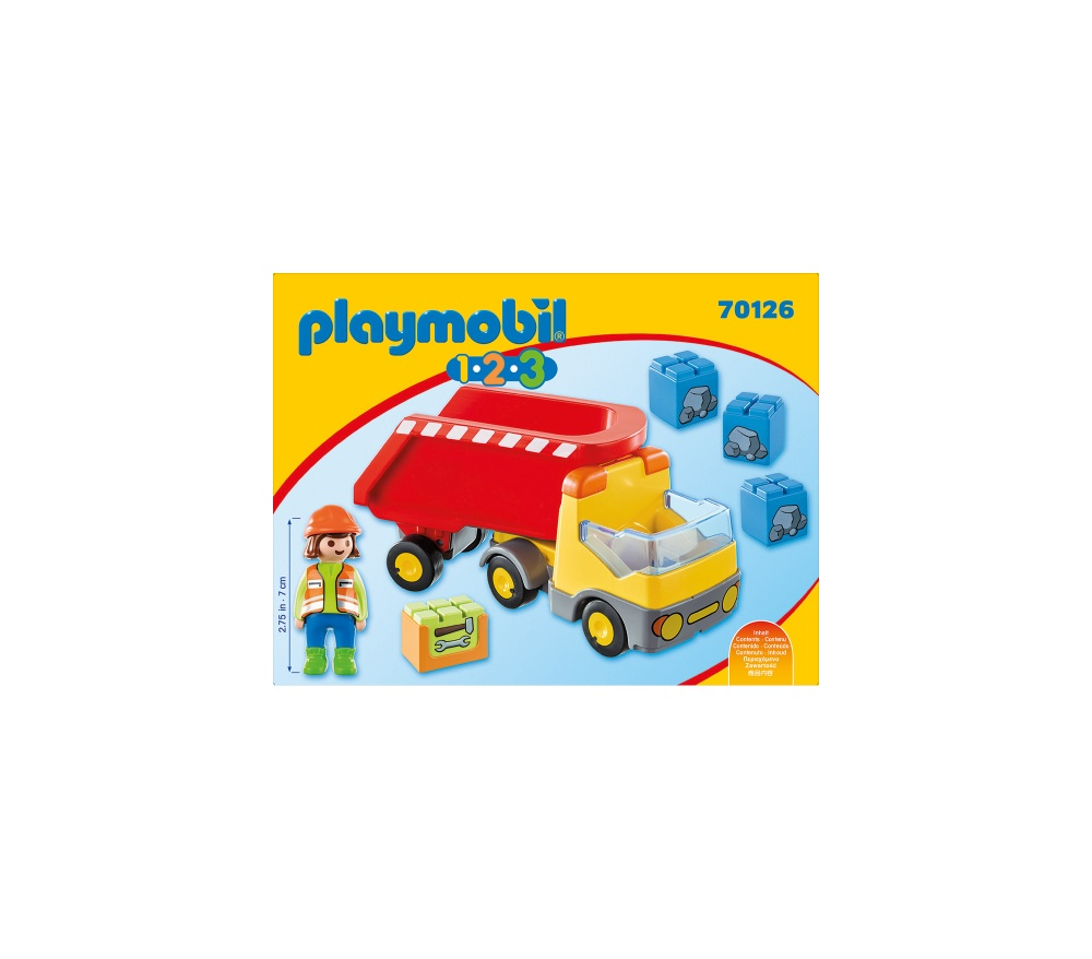 Basculanta rosie playmobil 1.2.3 - 1
