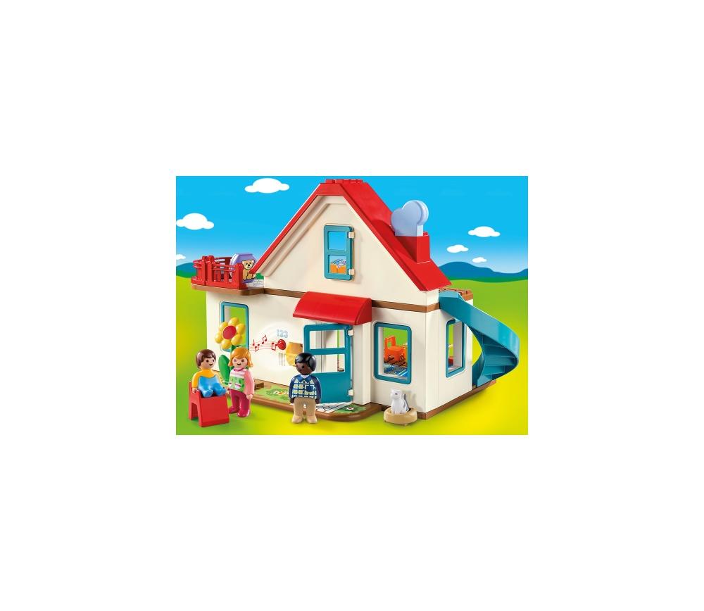 Casa familiei playmobil 1.2.3 - 1