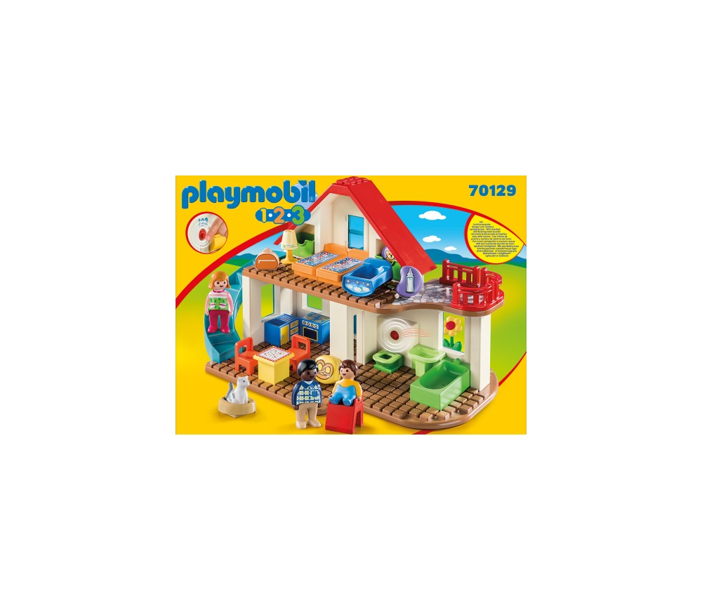Casa familiei playmobil 1.2.3 - 2