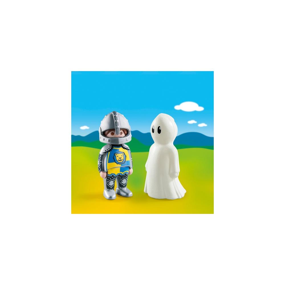 Cavaler cu fantoma playmobil 1.2.3 - 1