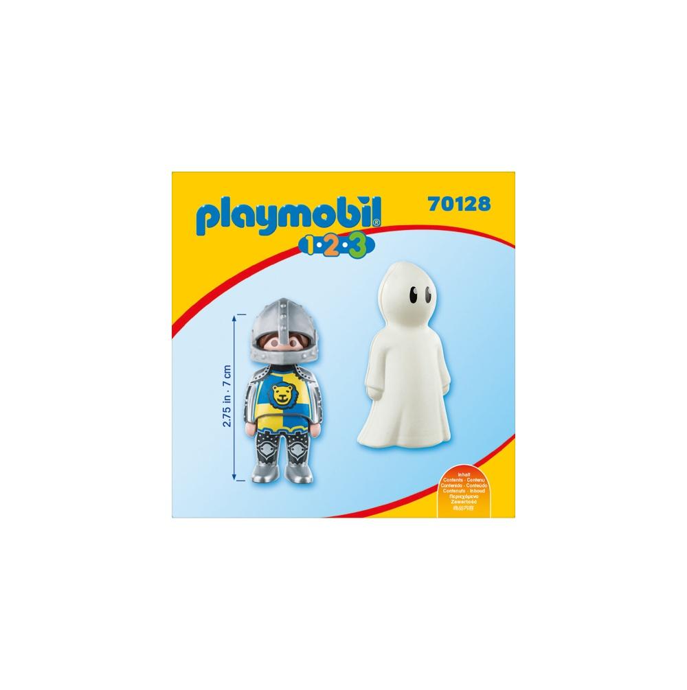 Cavaler cu fantoma playmobil 1.2.3 - 2