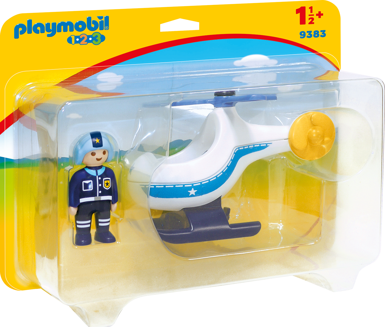 Elicopter de politie playmobil 1.2.3