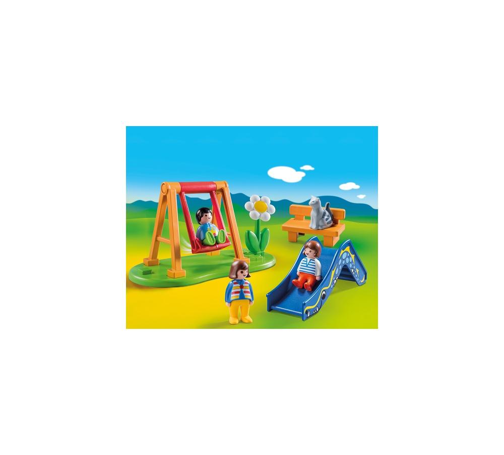 Loc de joaca playmobil 1.2.3 - 2
