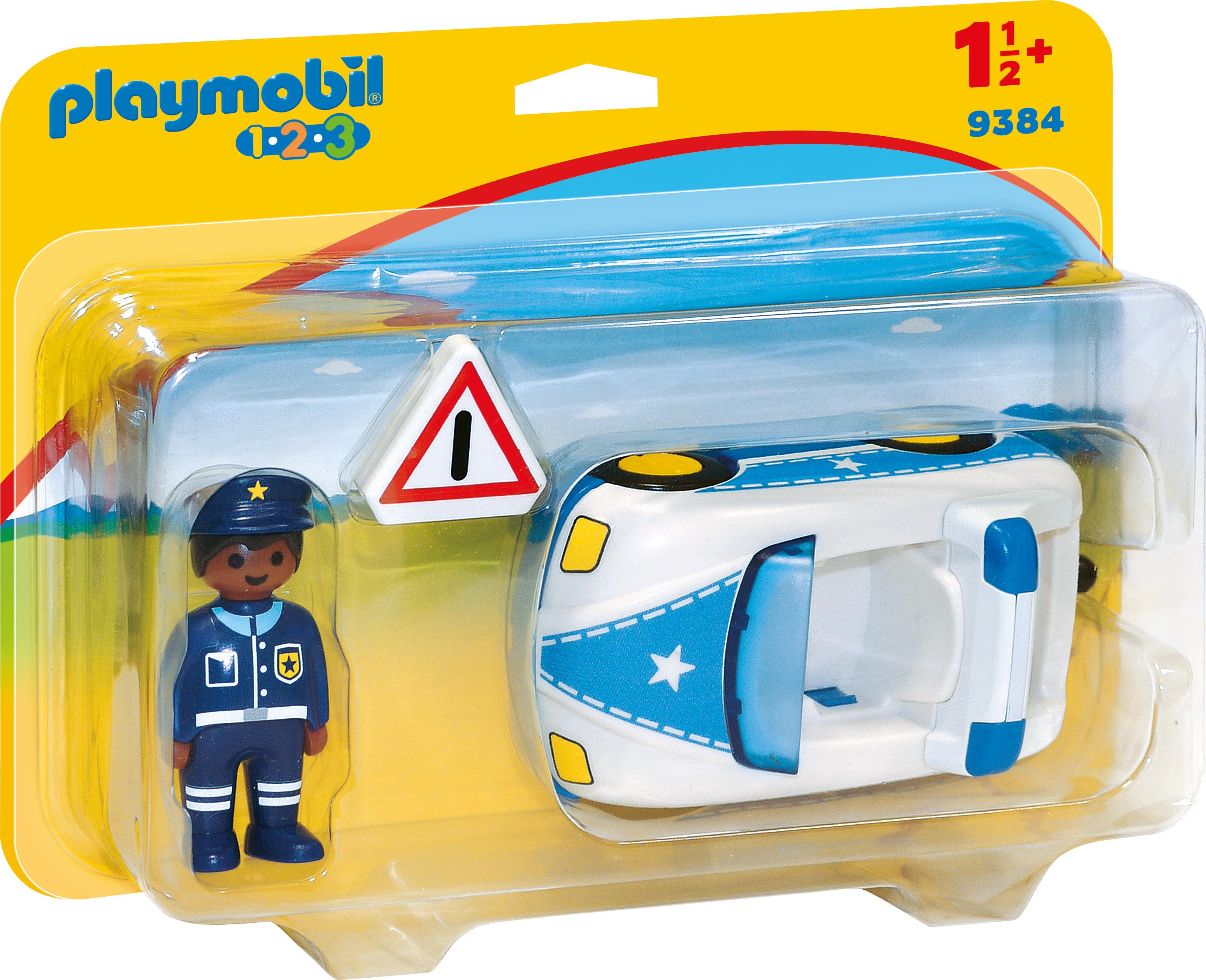Masina de politie playmobil 1.2.3