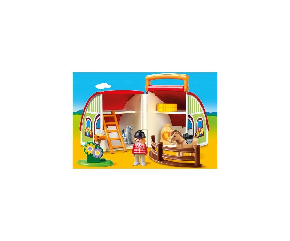 Set mobil ferma playmobil 1.2.3 - 1