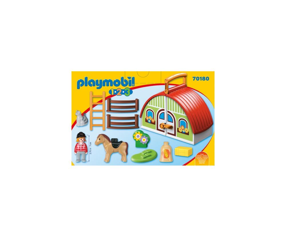 Set mobil ferma playmobil 1.2.3 - 2