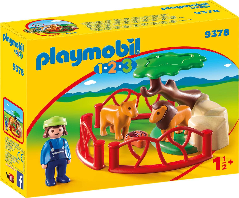 Tarcul cu lei playmobil 1.2.3