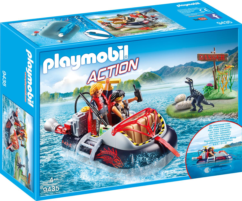 Ambarcatiune cu motor playmobil action