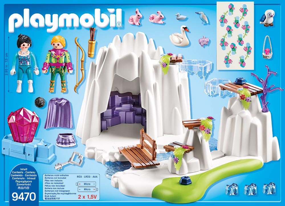 Ascunzatoarea de cristal playmobil magic - 1
