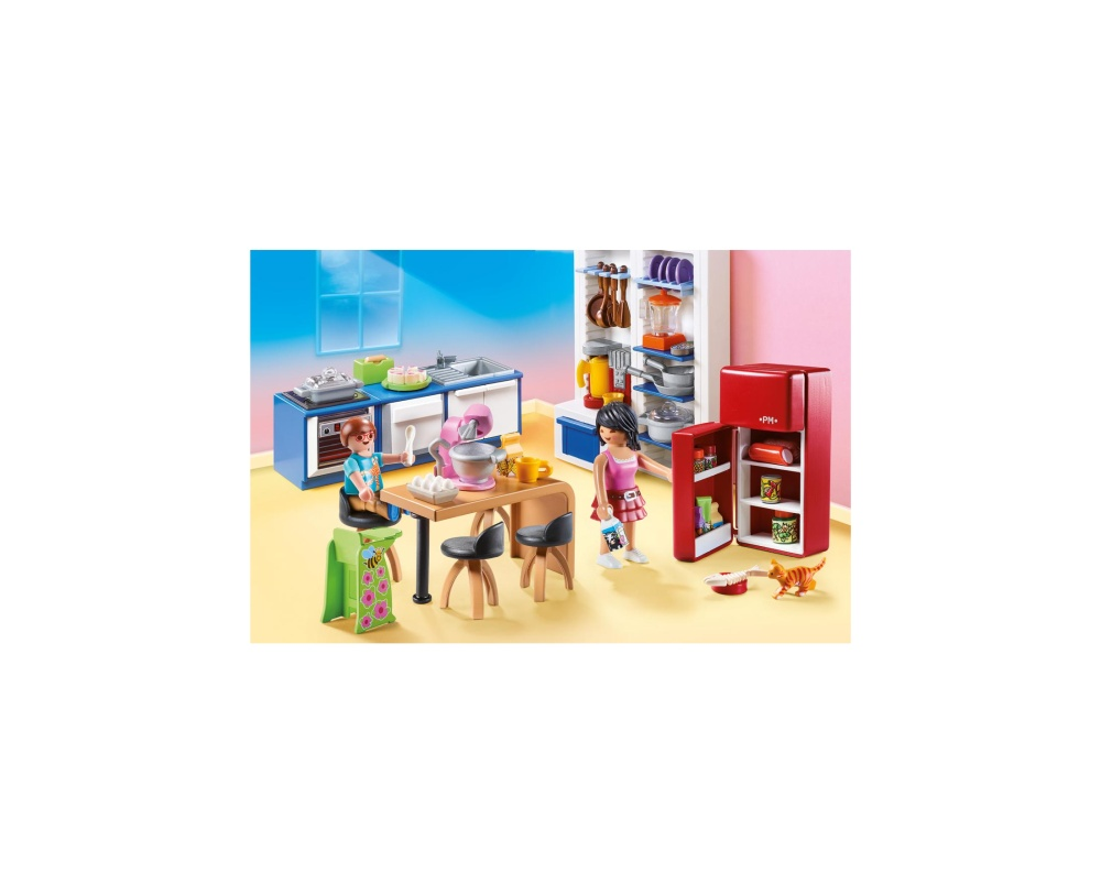 Bucataria familiei playmobil doll house - 1
