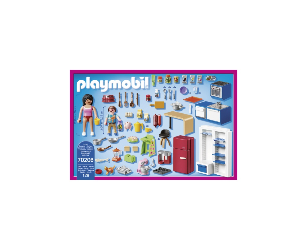 Bucataria familiei playmobil doll house - 2