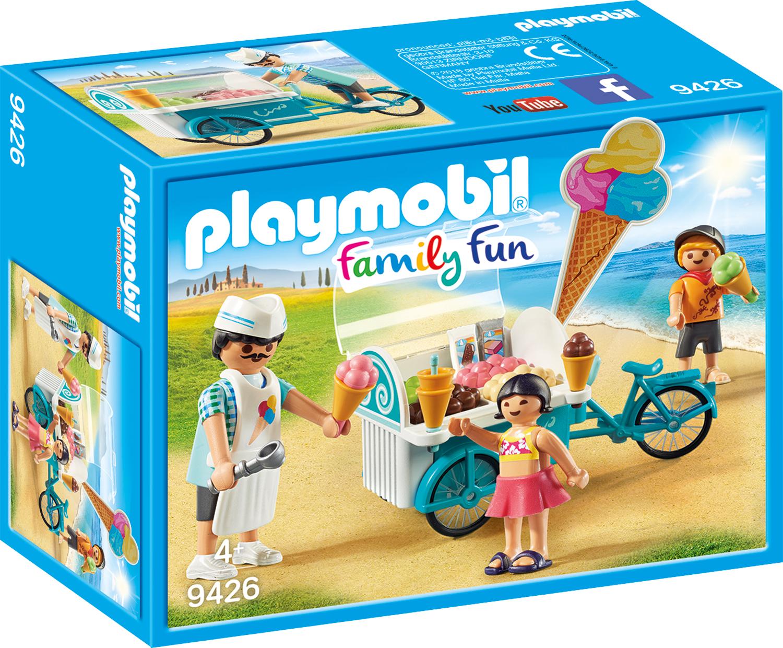 Carucior cu inghetata playmobil family fun