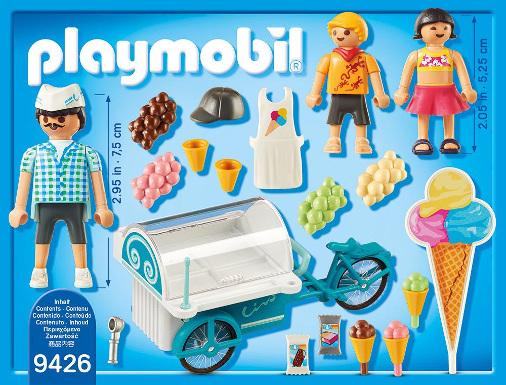 Carucior cu inghetata playmobil family fun - 1
