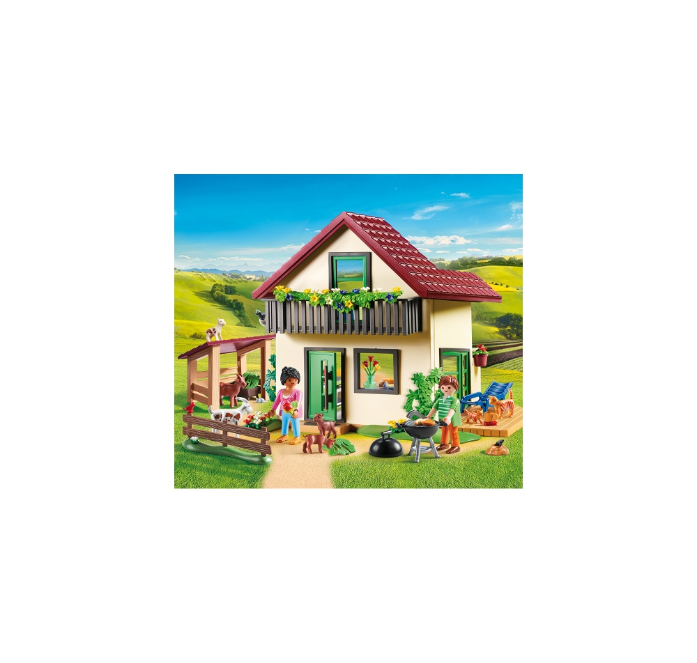 Casa de la ferma playmobil country - 2
