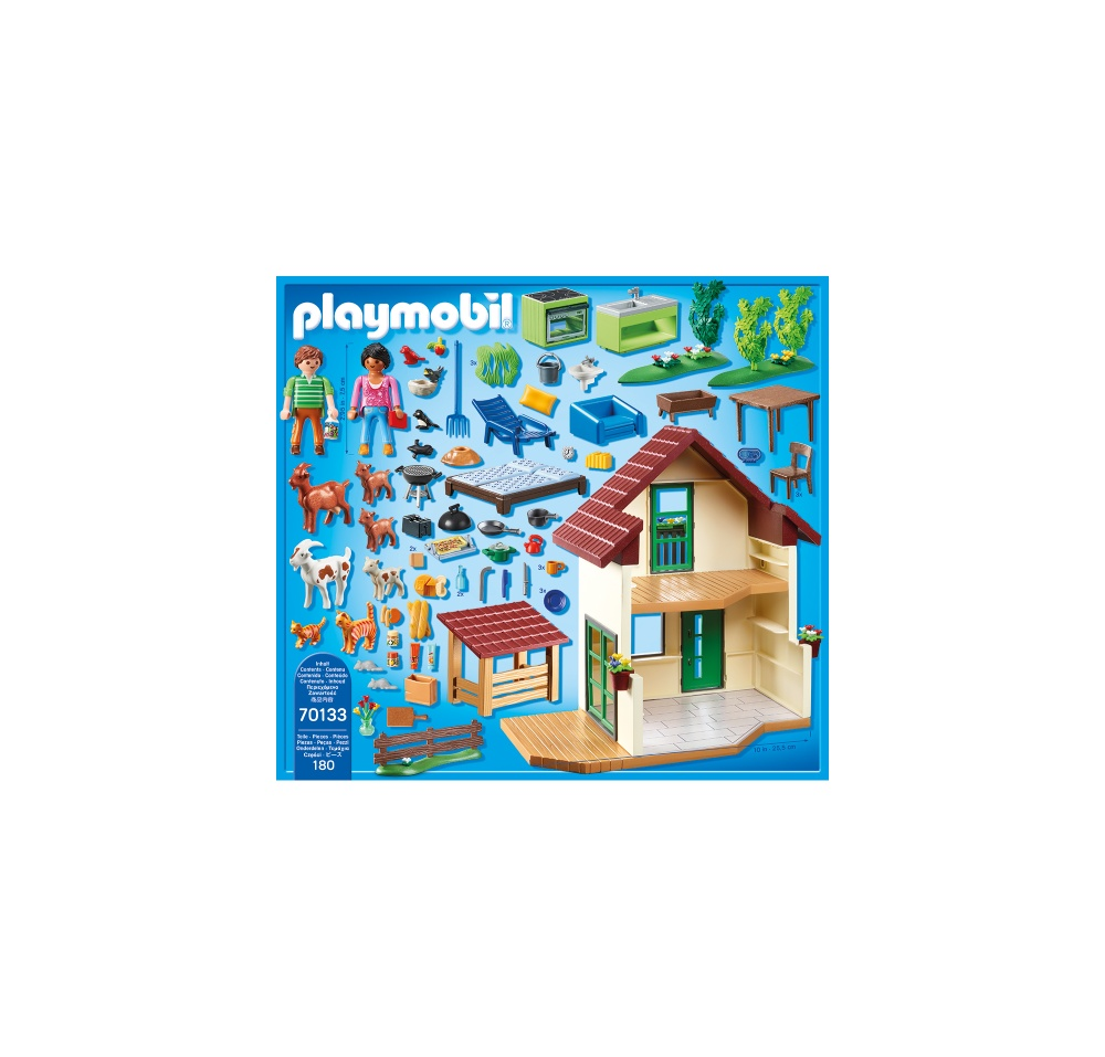 Casa de la ferma playmobil country - 1