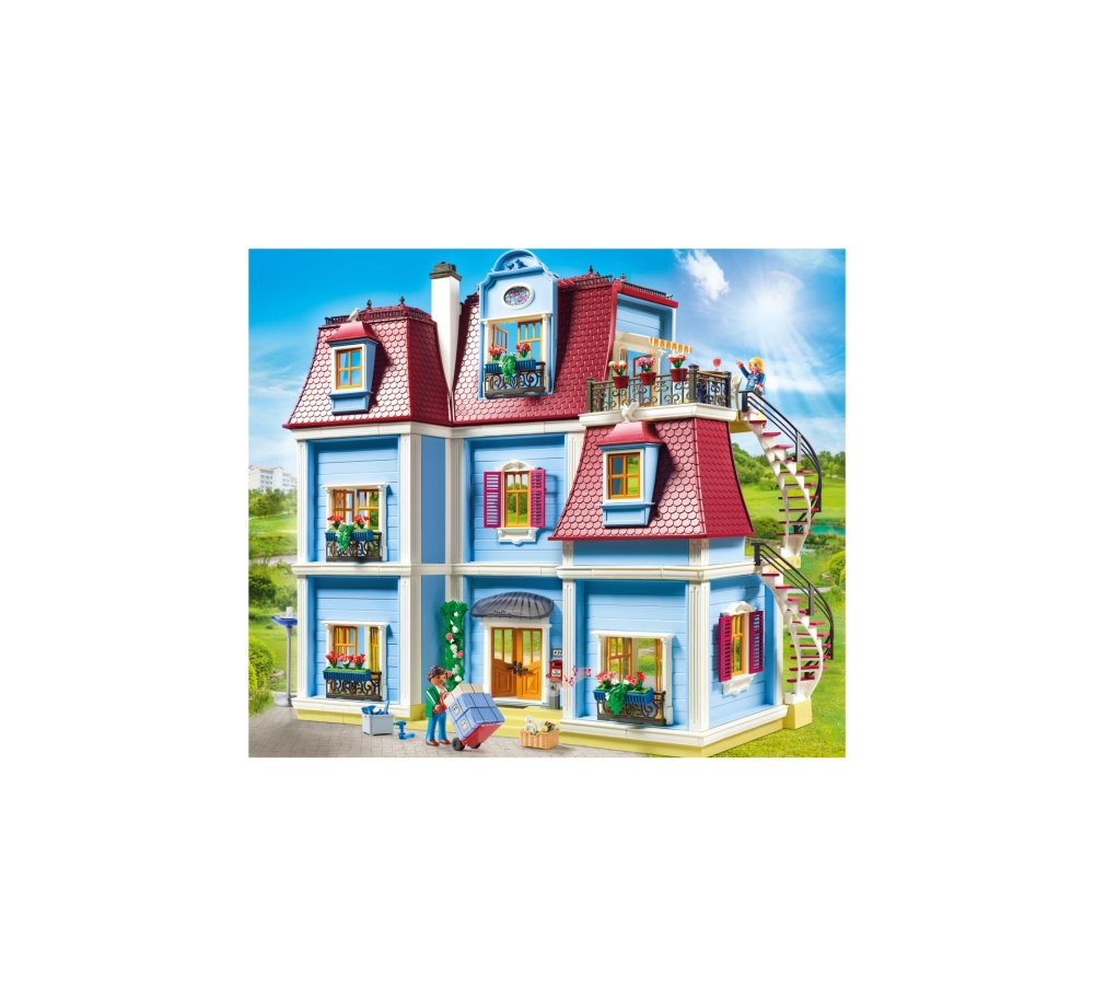Casa mare de papusi playmobil doll house - 1
