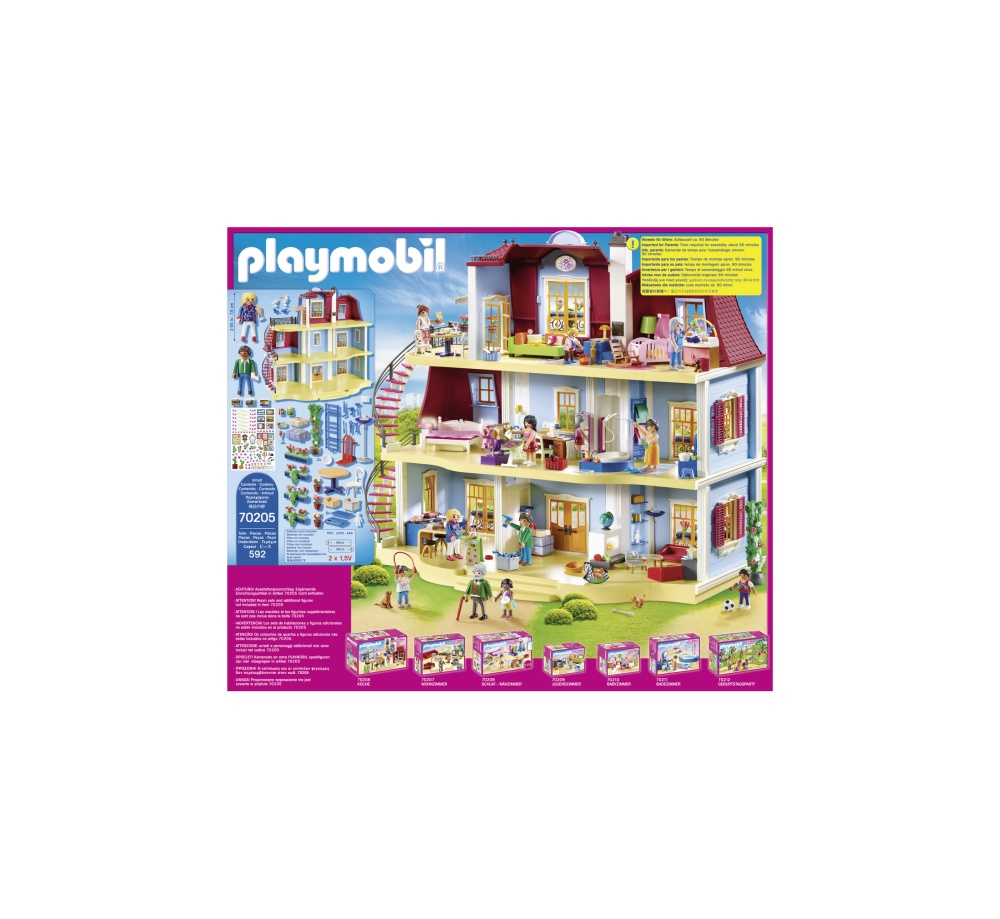 Casa mare de papusi playmobil doll house - 2