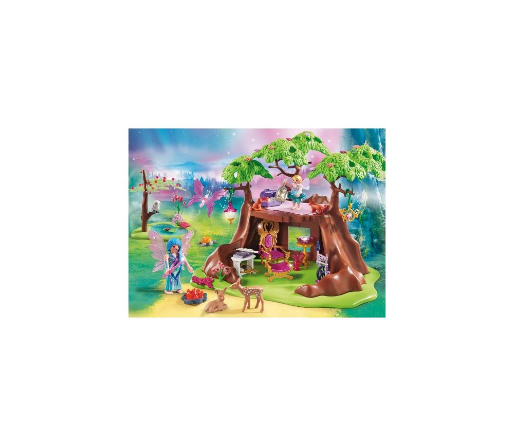 Casa zanelor din padure playmobil fairies - 2