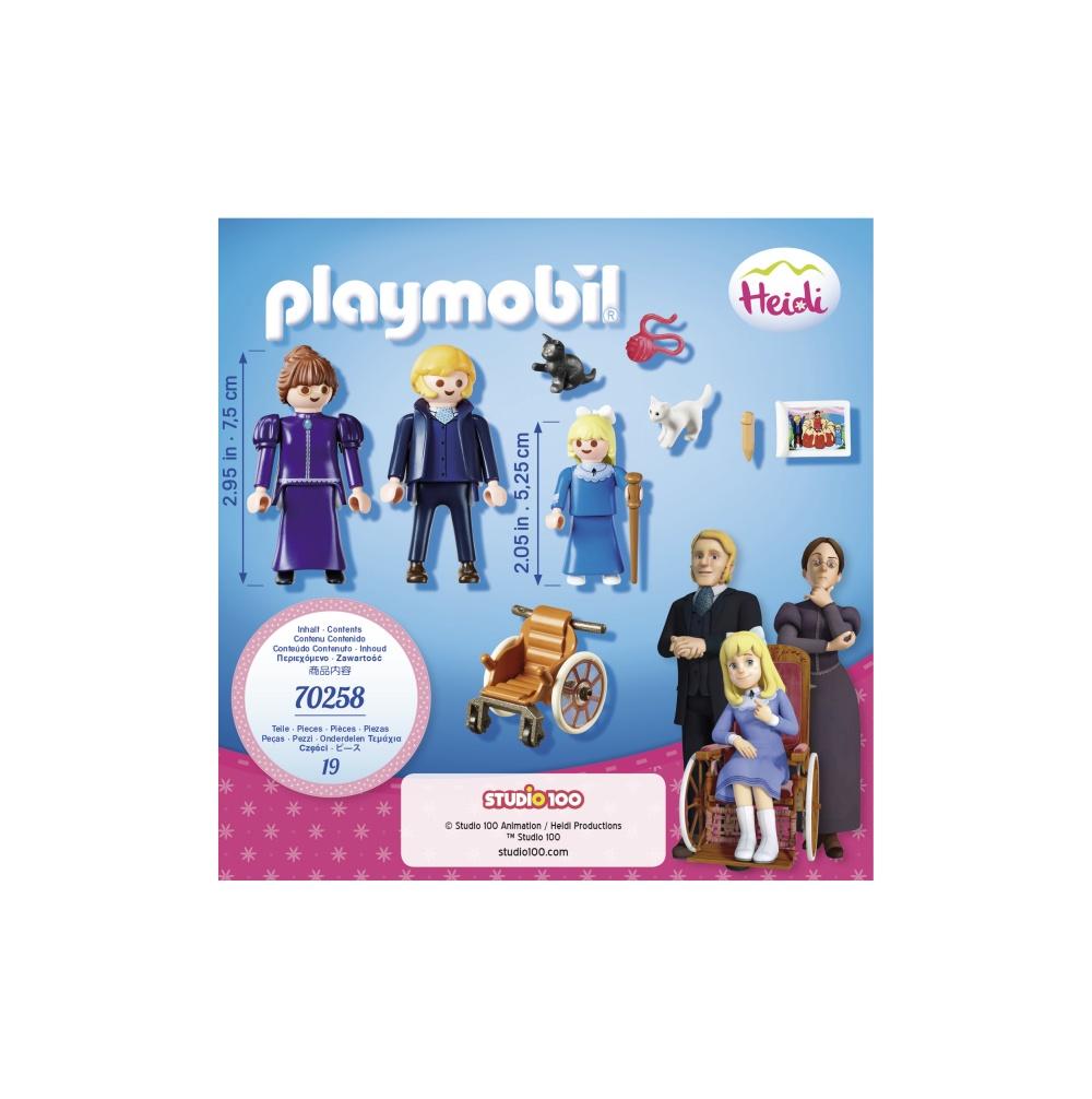 Clara si domnisoara rottenmeier playmobil heidi - 2